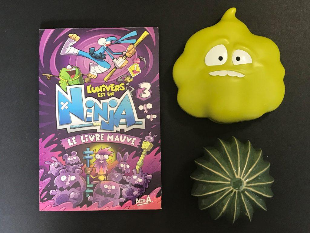 Le livre mauve d'Alex A est le troisième tome de la série L'Univers est un Ninja. Selon mon grand HPI de 6 ans et demi, c'est un incontournable. Découvrez Iyo dans une quête aquatique. #littératurejeunesse #BD #AlexA #GroupeModus