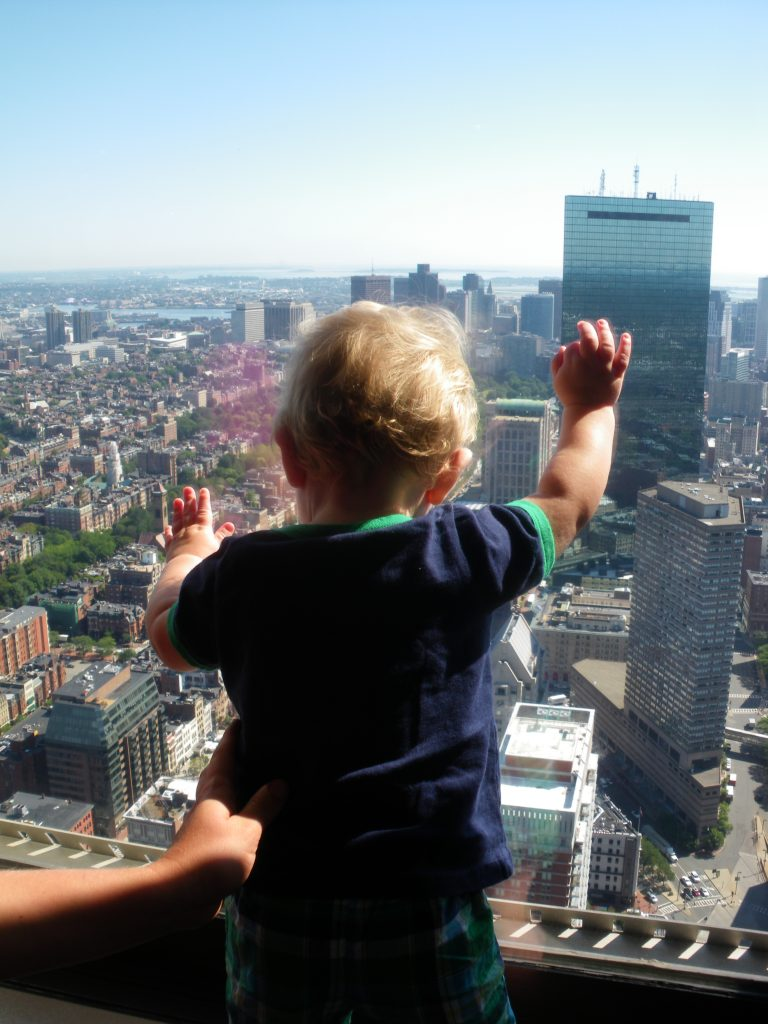 Voyage enfants Boston