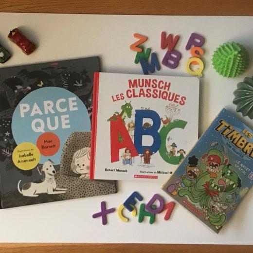 Trois belles suggestions de lecture parues aux éditions Scholastic cet automne. #livrepourenfant #scholastic #lecture