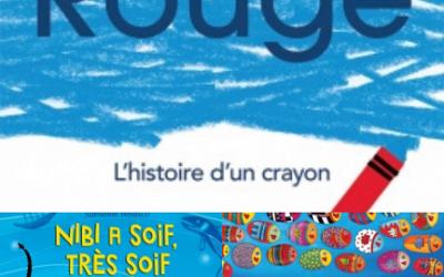 Une couleur, de l'eau potable et des poissons pour de belles découvertes en lecture